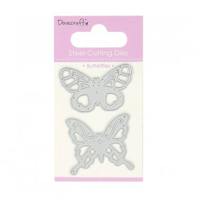 Dies Butterflies 2pc - Dovecraft