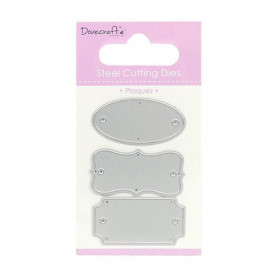 Dies Plaques 3pc - Dovecraft