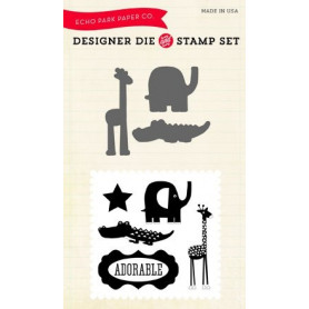 Die & stamp set Little Man - Echo Park