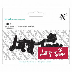 Dies Let it snow 4pc - Xcut