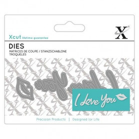 Dies I Love You 4pc - Xcut