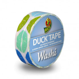 Washi Tape Aqua Kiss 10m - Duck Tape