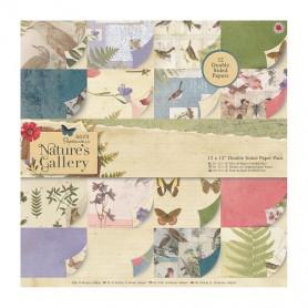 Set de papier 30x30 Nature's Gallery 32f - Docrafts Papermania