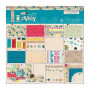 Set de papier 30x30 Sew Lovely 32f - Docrafts Papermania