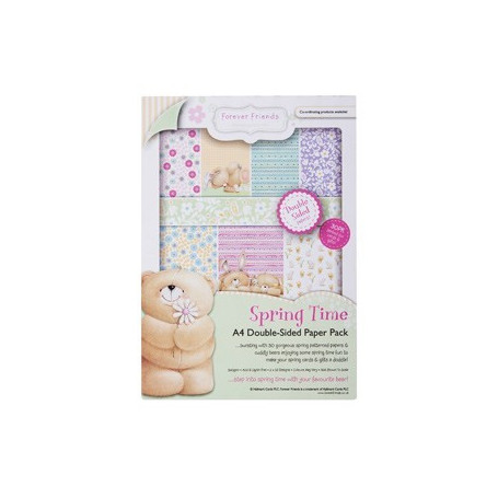 Set de papier A4 Spring Time 30f – Forever Friends - Docrafts Papermania