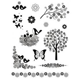 Tampons Fleurs Japonaises Artemio