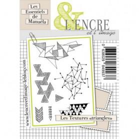 Tampons Textures triangles – L'encre et l'image