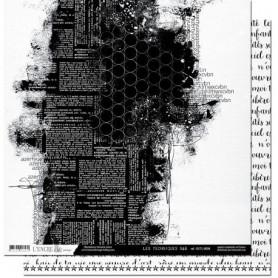 Papier 30x30 Les techniques N&B T4 1f - L'encre et l'image