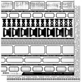 Papier 30x30 Les techniques N&B T6 1f - L'encre et l'image