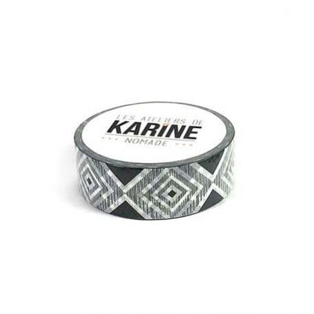 Masking Tape Géométrique 10 m Nomade - Les ateliers de Karine