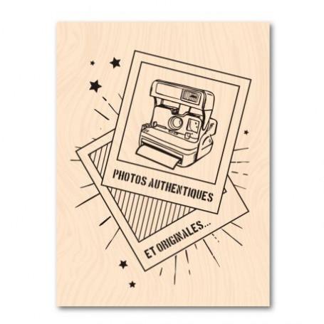 Tampon bois Instant Pola - Nomade - Les ateliers de Karine