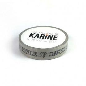 Masking Tape Petits Bonheurs 10 m - Les ateliers de Karine