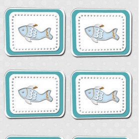 Embellissements 3D Poisson – Glory - Inspiration - Ursus