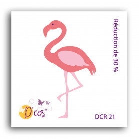 Die D'co Flamant Rose - Toga