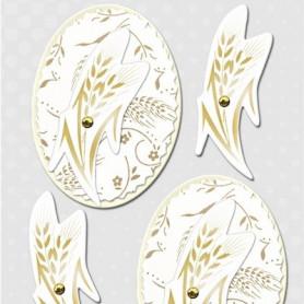 Embellissements 3D Epi de blé M221 – Inspiration - Ursus