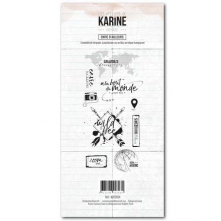 Tampons Envie d'ailleurs - Nomade – Les ateliers de Karine