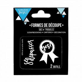Dies Se dépasser 2pc Toujours dans le mouv' - Florilèges Design