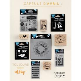 Pack complet Capsule avril 2017 Toujours dans le mouv' - Florilèges Design