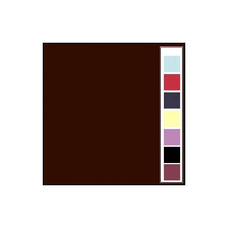 Carton texturé 13,5x27 Chocolat 10 pièces
