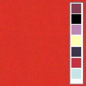 Carton texturé 13,5x27 Rouge Noël 10 pièces