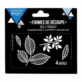 Dies Feuillages 4pc - Florilèges Design