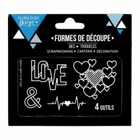 Dies Atout Coeur 4pc - Florilèges Design
