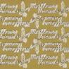 Autocollant Meilleurs Vœux doré – Artemio 4617