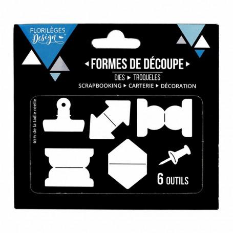 Dies Onglets 6pc - Florilèges Design