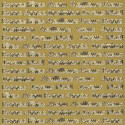 Autocollant Textes Fêtes doré Starform 554