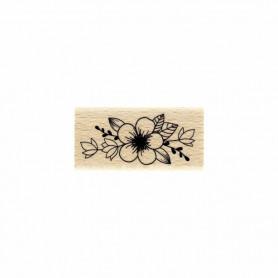Tampon bois Harmonie fleurie - Envolée Poétique - Florilèges Design