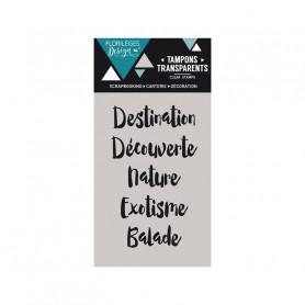 Tampons Ma destination – Florilèges Design