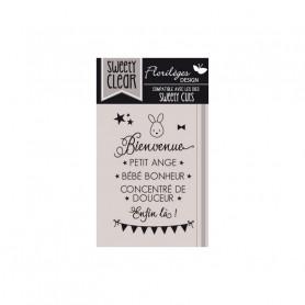 Tampons Bienvenue Bébé – Florilèges Design