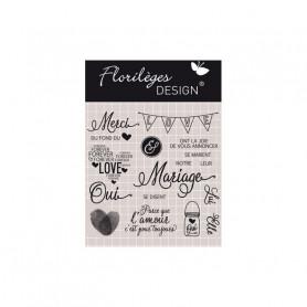 Tampons Notre mariage – Florilèges Design