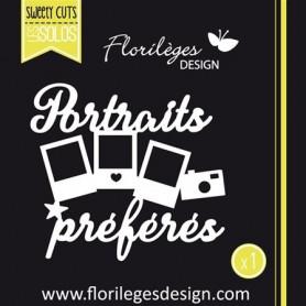 Dies Petits portraits – Florilèges Design