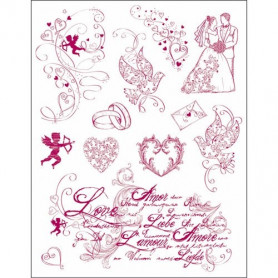 Tampons Love - Viva Decor - My Paper World