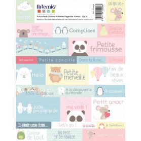 Stickers Adorable 15,5x20 - Artemio