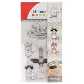 Tampons Totem Manitou 9 x 14 cm - Artemio