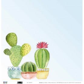 Papier 30x30 Cactus 1f - Artemio