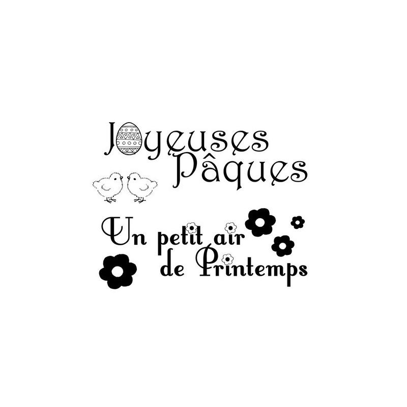 Mini Tampons Joyeuses Pâques Artemio