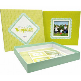 Kit scrapbooking Happiness - Artémio