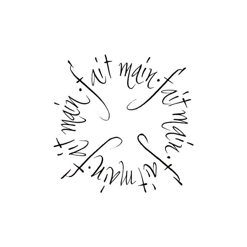 Tampon bois Fait main en forme de cercle– Artemio