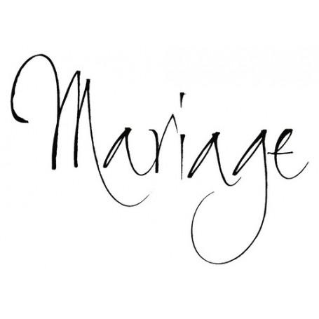 Tampon bois Mariage – Artemio