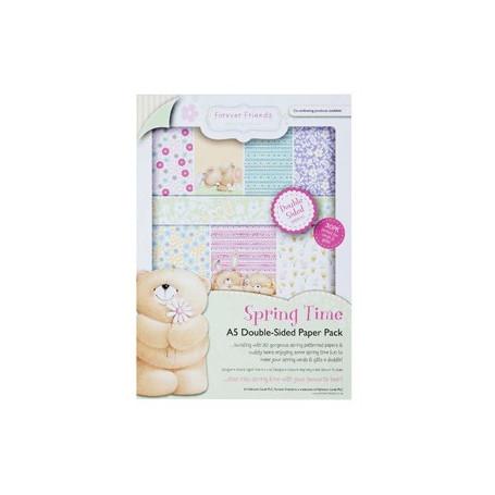 Set de papier A5 Spring Time (30f) – Forever Friends