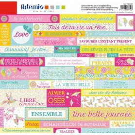Stickers Freedom 30x30 - Artemio