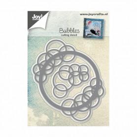 Dies Bubbles circle and corner 2 pc - Joycraft