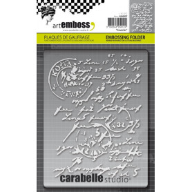 Classeur de gaufrage A6 Courrier – Carabelle Studio – Embossing folder