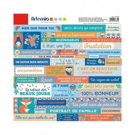 Stickers Graphic Time 30x30 - Artemio