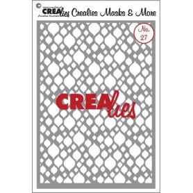Pochoir A5 Masks and More CLMM27 – Crealies