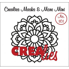 Pochoir Masks and More Mini Mandala A – Crealies