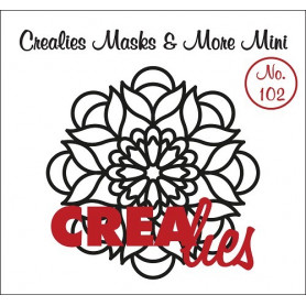Pochoir Masks and More Mini Mandala B – Crealies